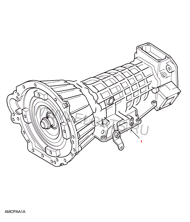 ZF-4 SPEED-AUTOMATIC Defender 1987-2006