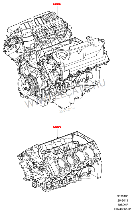 5.0L OHC SGDI NA V8 PETROL; 5.0L OHC SGDI NA V8 PETROL - AJ133 Discovery 4